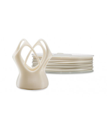 Ultimaker 2.85mm Pearl Whitne PLA filament - 750g