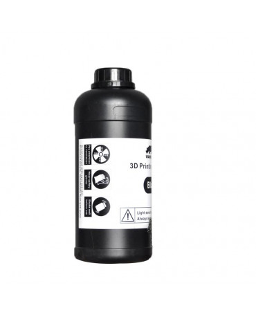 Wanhao 405nm Black Standard UV Resin - 1L