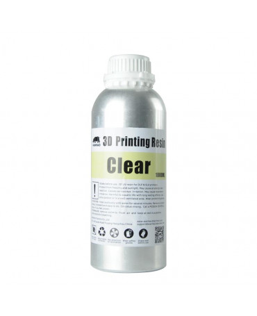 Wanhao 405nm Clear Standard UV Resin - 1L
