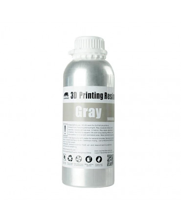 Wanhao 405nm Grey Standard UV Resin - 1L