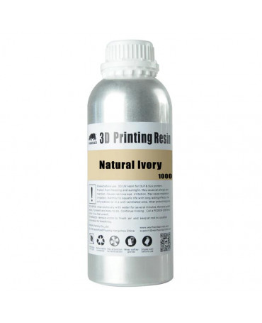 Wanhao 405nm Natural Ivory Standard UV Resin - 1L
