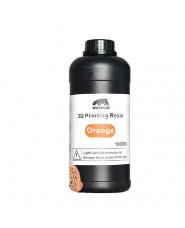 Wanhao 405nm Orange Standard UV Resin - 1L