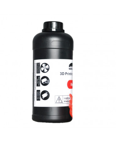 Wanhao 405nm Red Standard UV Resin - 1L