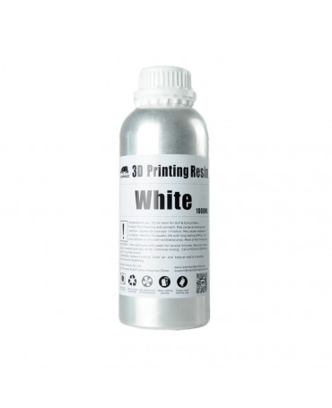 Wanhao 405nm White Standard UV Resin - 1L