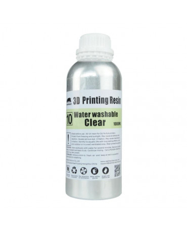 Wanhao 395-420nm Clear Water-washable UV Resin - 1L