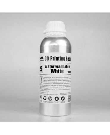 Wanhao 395-420nm White Water-washable UV Resin - 1L