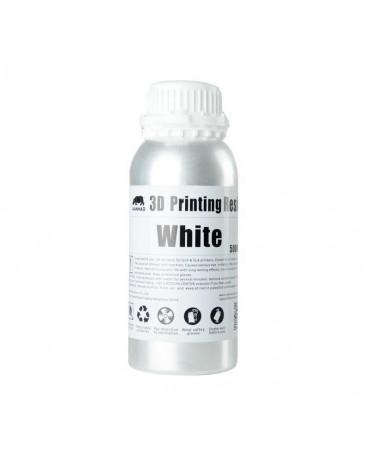 Wanhao 395-420nm White Water-washable UV Resin - 500ml