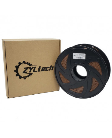 Zyltech Cocoa Brown PLA Filament - 1 kg