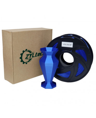 Zyltech Blue Silk Composite PLA Filament - 1 kg