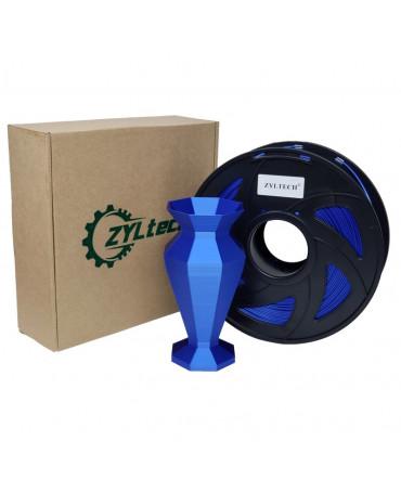 Zyltech Blue Silk Composite PLA Filament - 1 kg