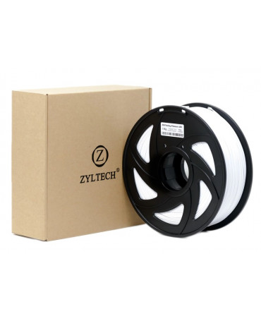 Zyltech 1.75mm Ceramic White PLA Filament - 1kg