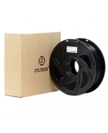 Zyltech 1.75mm Glossy Black PLA Filament - 1 kg