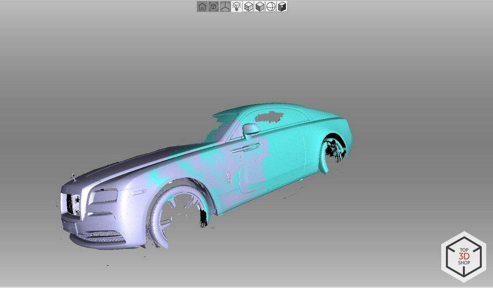 Pimp My Ride: How We 3D Scanned a Rolls-Royce Wraith | Blog