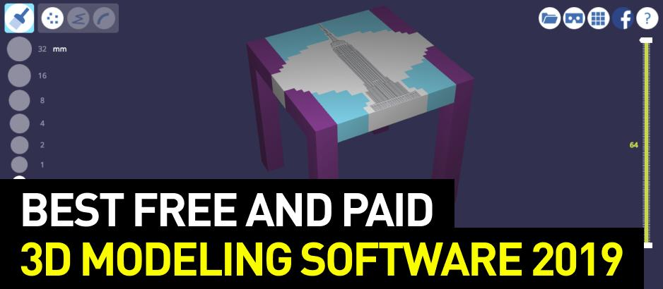 Best Free And Paid 3d Modeling Software 2019 Top 3d Shop