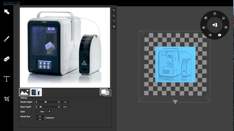 It features multiple connectivity options. 3D models can be printed from computer via USB cable or wirelessly over Wi-Fi and Ethernet. The print queue feature allows multiple users to send different printing files from different devices at a time.