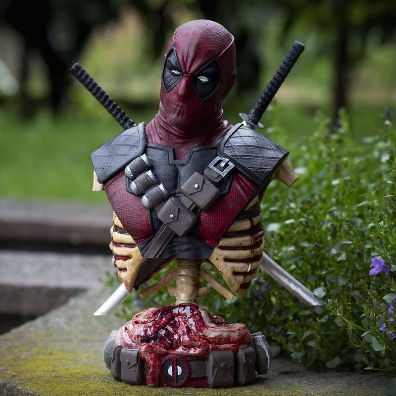 model of Deadpool