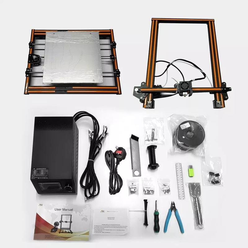What's in the box anet e16 3d printer