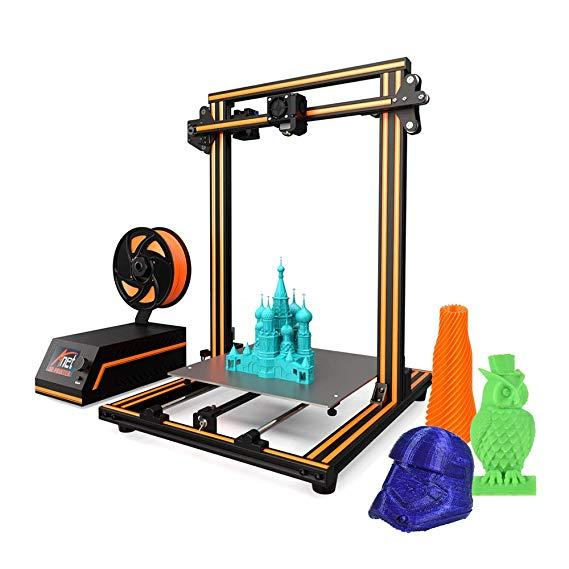 Anet E16 3D printerv with printing models