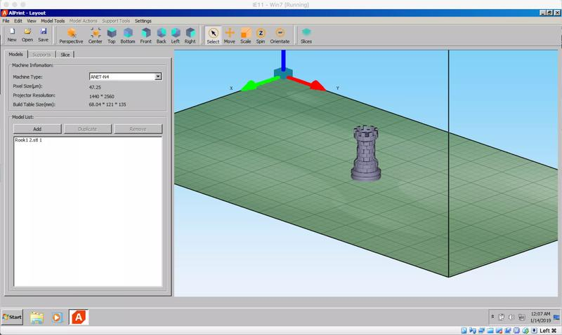 You can prepare your printing models using the dedicate Anet slice software, ALPrint. It has been developed to deliver extreme usability and speed, giving you the possibility to slice big models in just 1 minute. It detects 3D model flaws and automatically repairs them