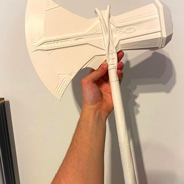 plastic ax