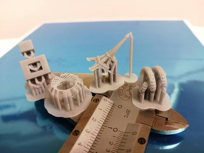 The results are pretty good and highly accurate even for small prints. tiny, well-defined 3D models