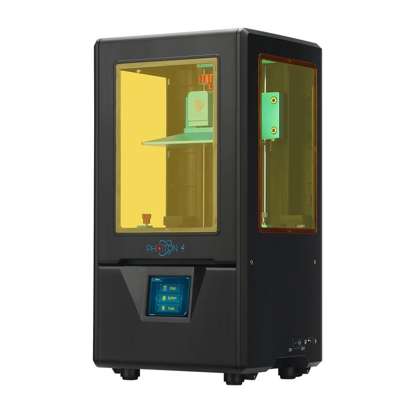 3d printer Anycubic Photon S is available in either black or white colors