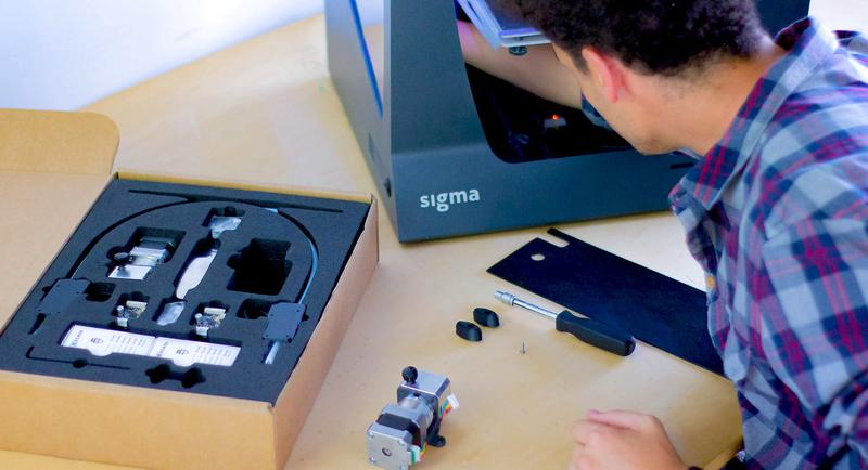 What's in the box BCN3D Sigma R19 3d printer