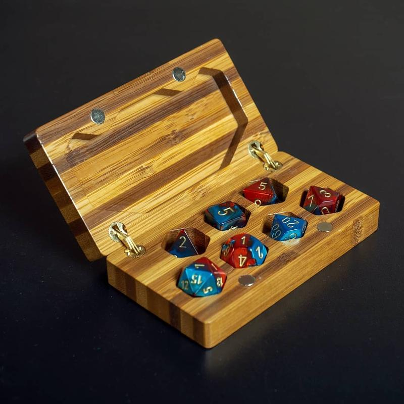 This Bamboo dice box is just an example of what it can produce.