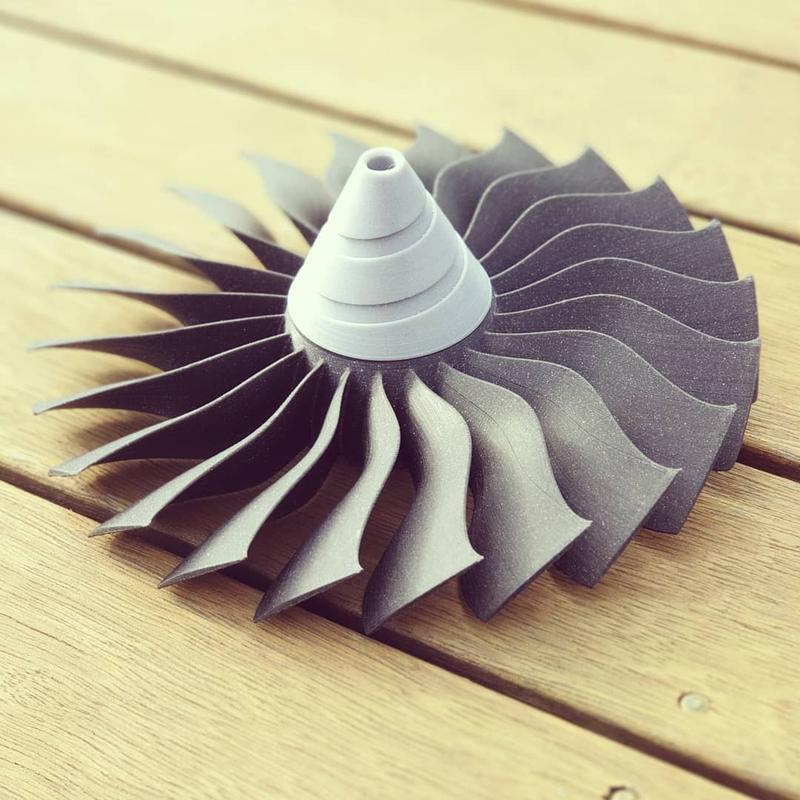 Just notice how smooth and defined this turbine is.