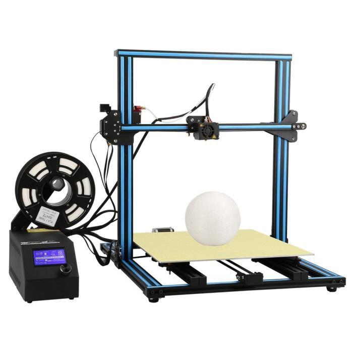 3d printer creality cr-10 s5 with 3d model