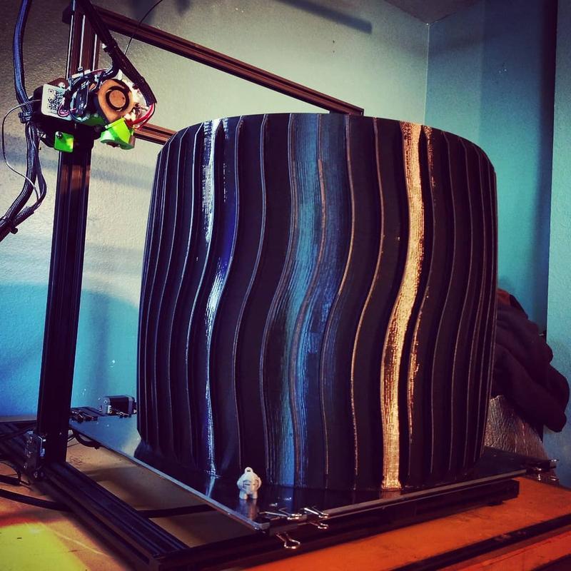 3d model wheel printed