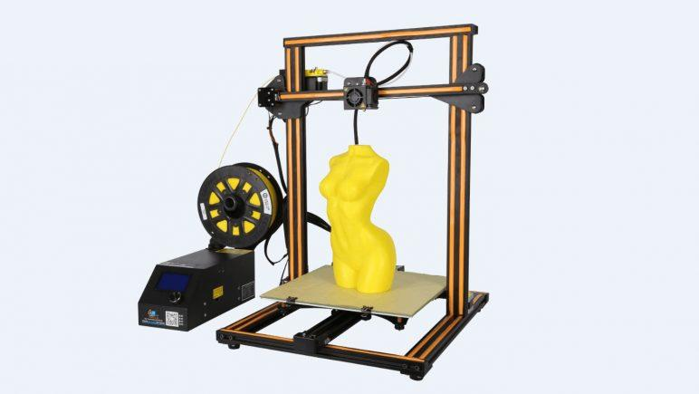 The build area of 11.8 x 11.8 x 15.7 inches (300 x 300 x 400 mm) lets you print just about anything extending your average 3D printing needs