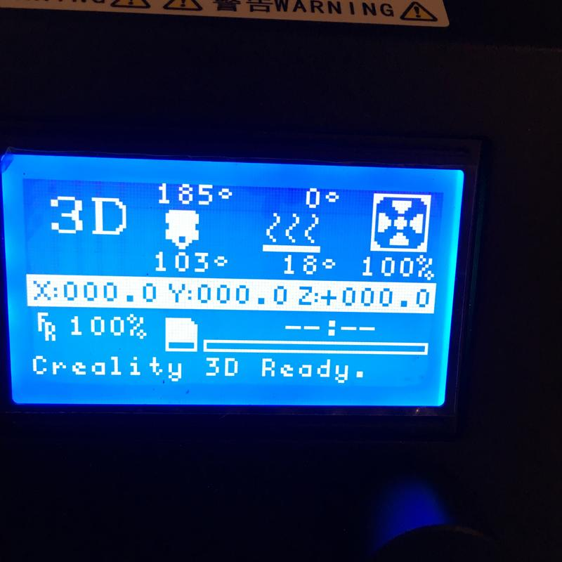 The printer has a separate intuitive control box