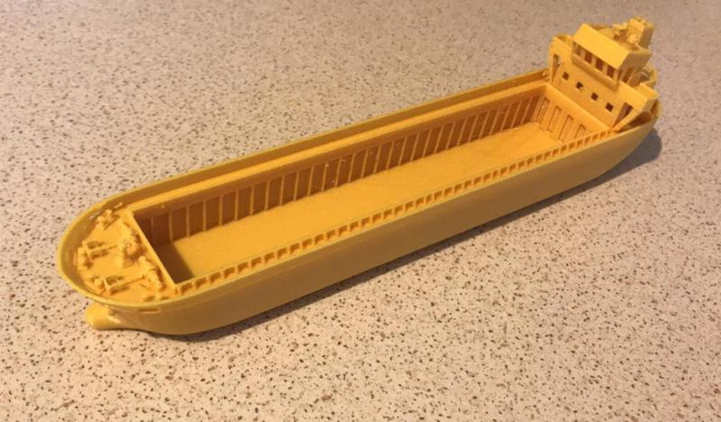 ship model printed on 3D printer