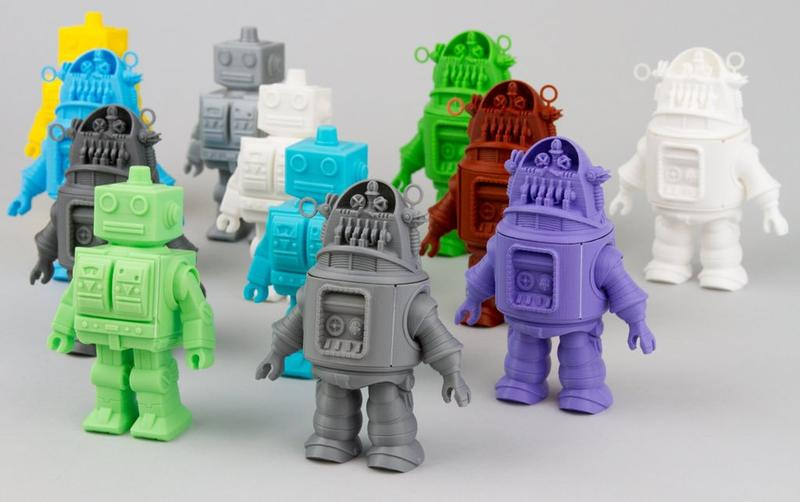 3d models robot printed