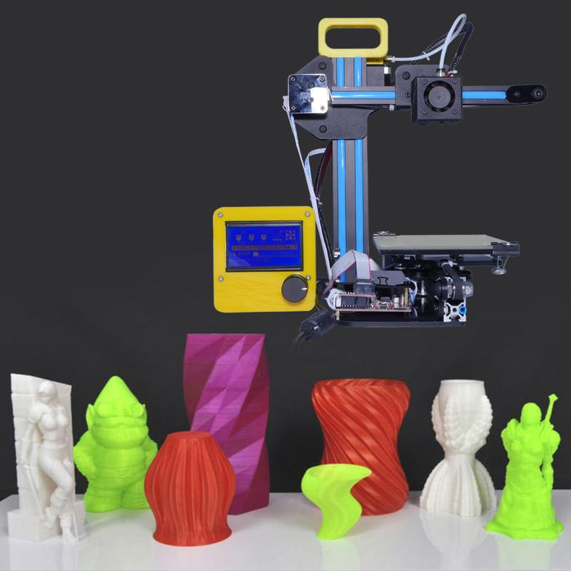 Creality CR-7 3D Printer with printed models