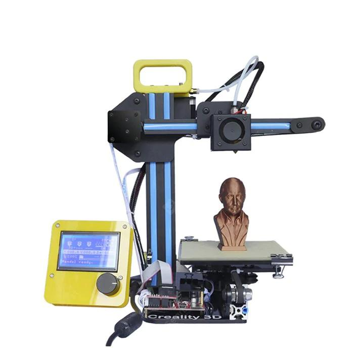 Creality CR-7 3D Printer with a model of human's head