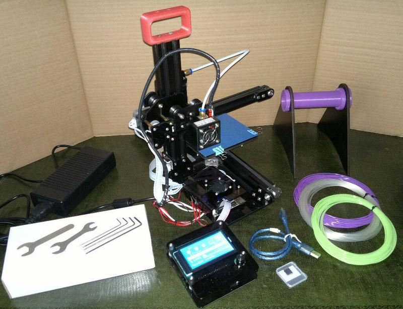 what's in the Creality CR-7 3D Printer box