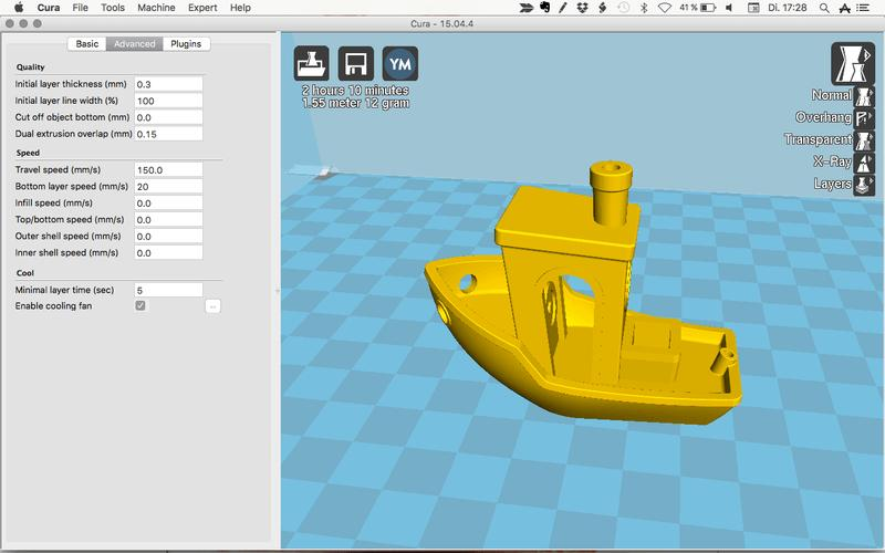 The printer is compatible with a variety of 3D slicing and engraving software for file preparation. It works well with Cura, Repetier-Host, CraftWare, Simplify 3D, and other commercial programs.