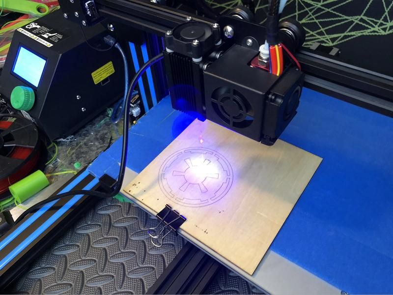 The high-precision laser engraving module ensures precise positioning. It lets you add a personal touch on your creations with ease.