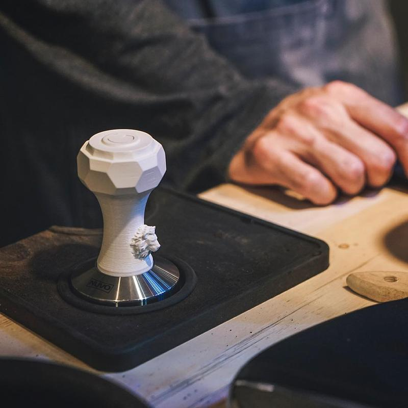 One user decided to use his Cubicon Single Plus to customize a coffee tamper