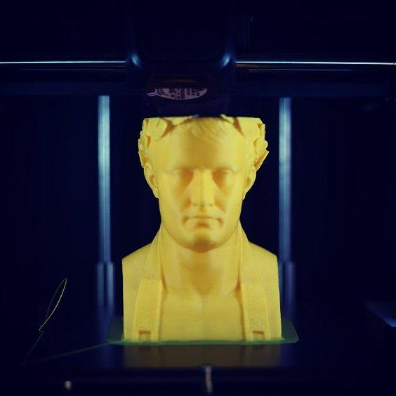 the caesar printed on the Cubicon Style 3D printer