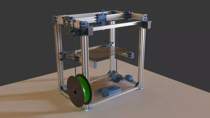 D-Bot Core-XY 3D Printer