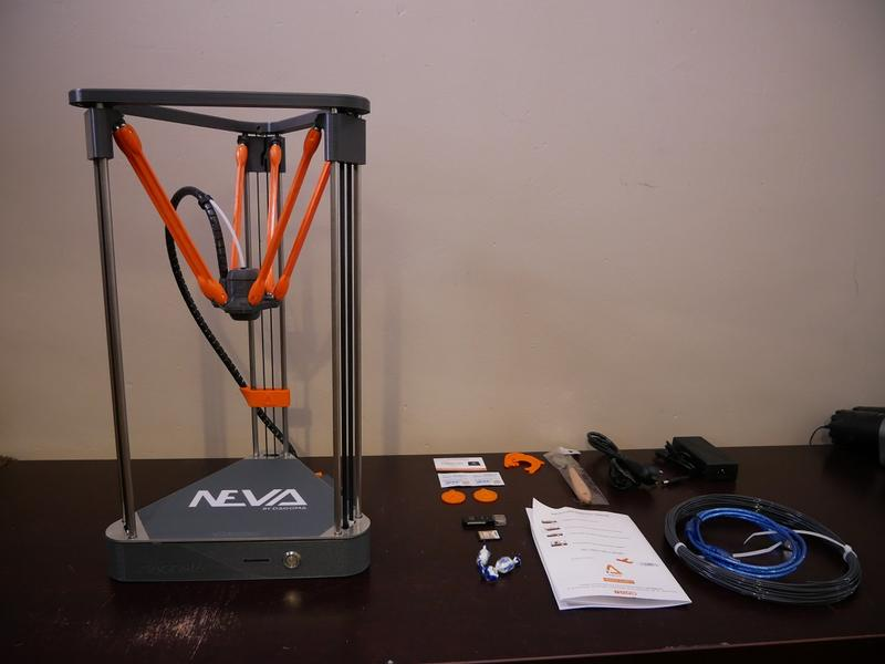 what's in the box Dagoma Neva 3D Printer