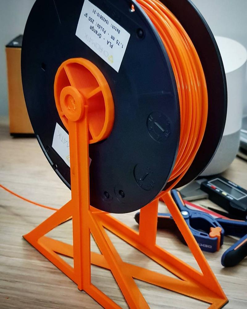 However, you might use your Dagoma Neva to 3D print a functional spool holder.