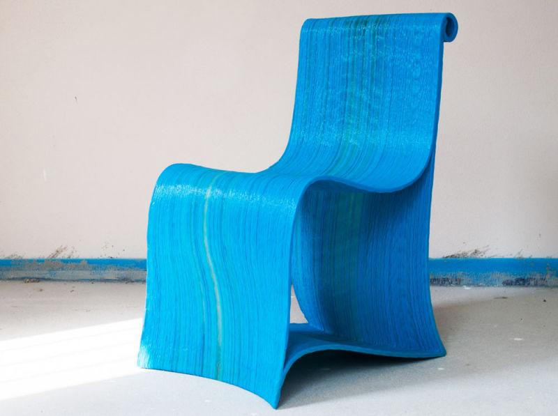 One user was even able to print the chair pictured below. The capability of printing technical material allows for the production of sturdy, durable products.