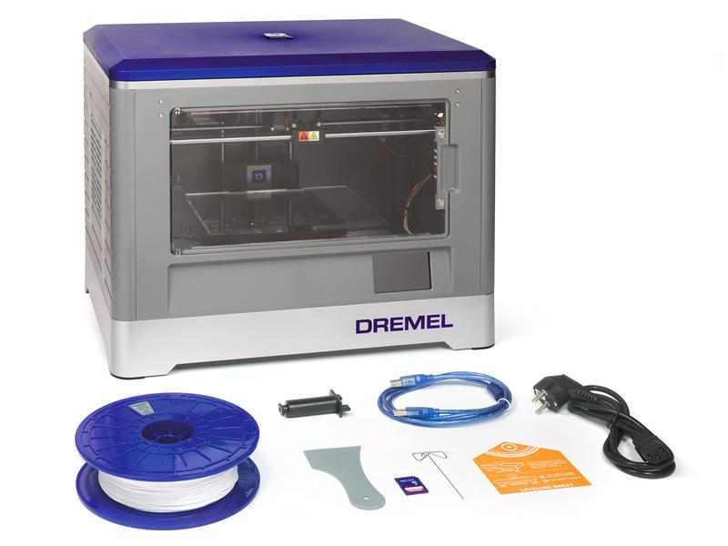 What's in the Dremel 3D20 box