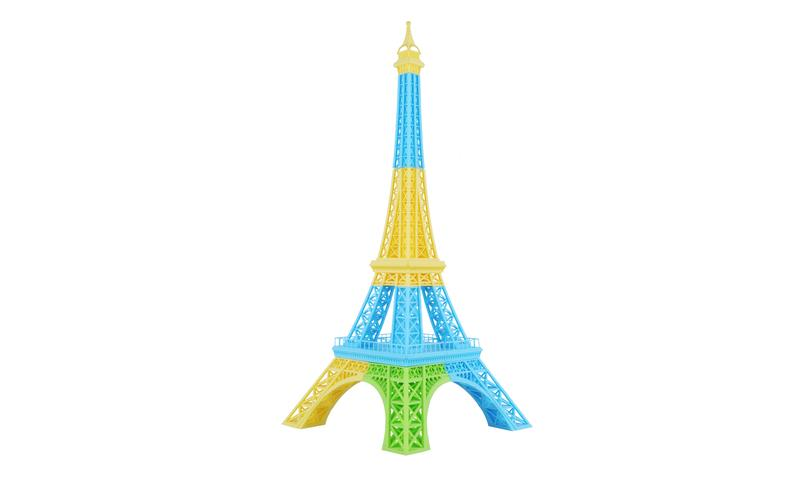 the effel tower model printed in the The Einstart-C