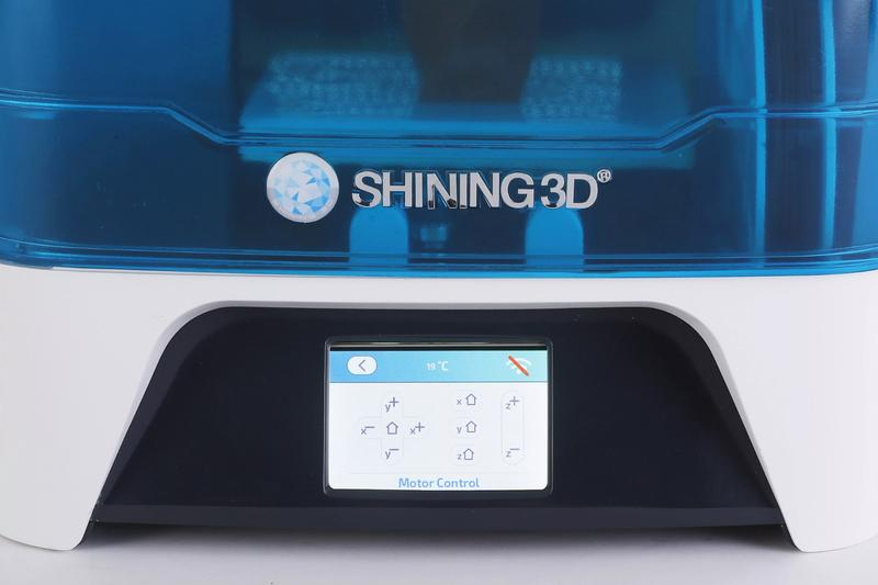Shining3D Einstart-C 3D Printer lcd interface