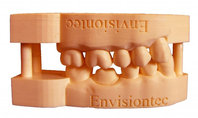 The accuracy of this 3D printed dental impression is astonishing.